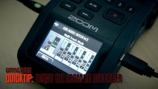 zoom h6 recorder for gameplay videos