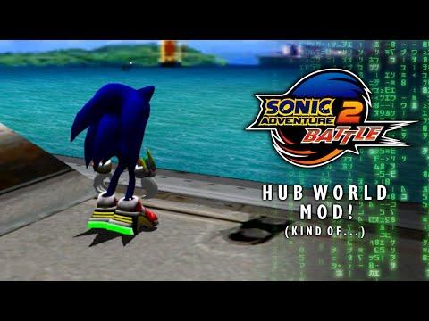 Sonic Adventure 2 Battle Hub World Mod Kind Of Youtube