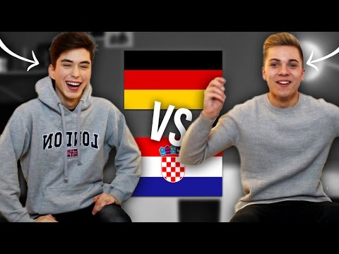 LANGUAGE CHALLENGE | GERMANY vs CROATIA