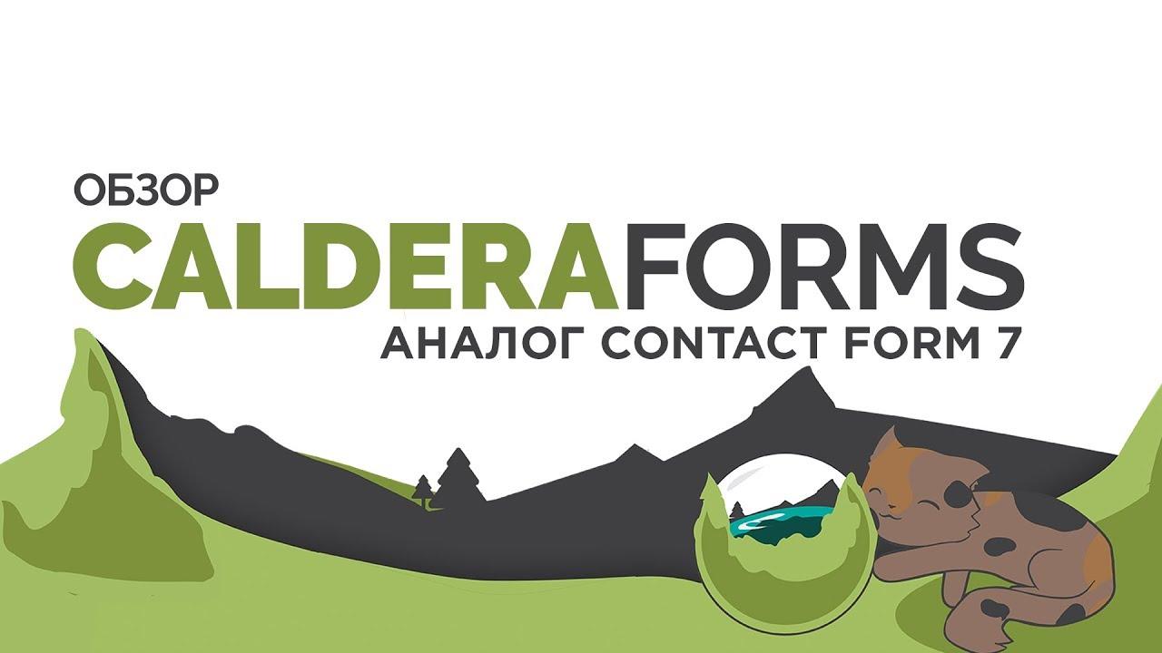 Caldera Forms - формы, в которых есть все