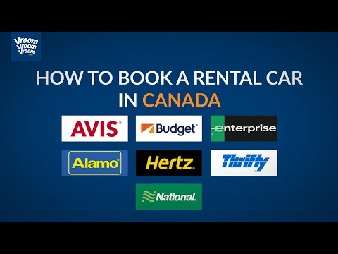 How To Book A Rental Car In Canada