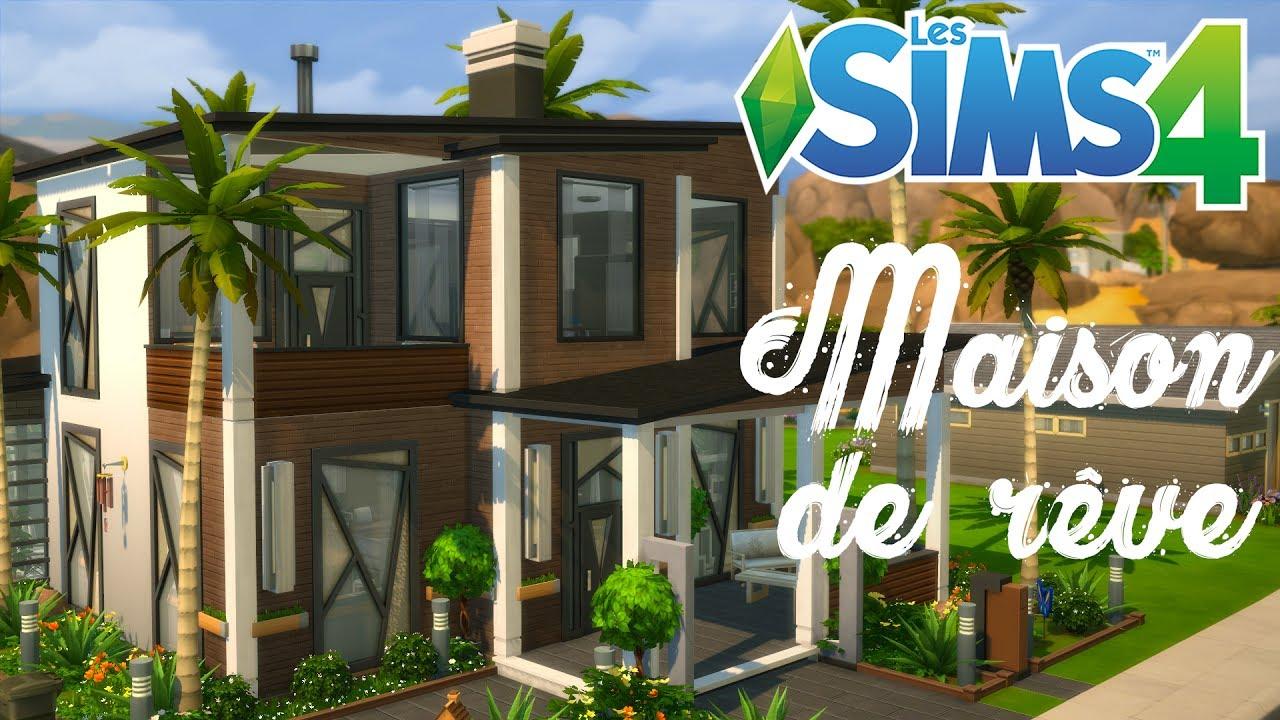 Cr ation sims 4 ma maison de r ve my dream house youtube for Maison prefabriquee sims 4