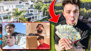 $1,000 Treasure Hunt At The FaZe House