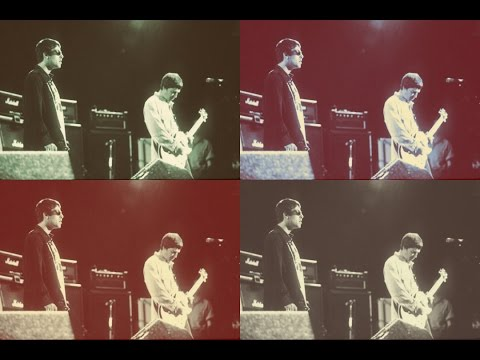 OASIS:KROQ Weenie Roast,Irvine Meadows,Irvine,California,USA 14/06/1997