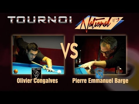 9 Ball - TN3 2013 - 2014 - Olivier Goncalves Vs Pierre Emmanuel Barge