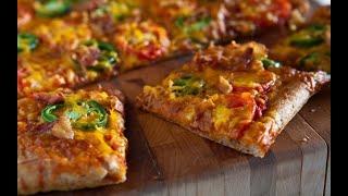 Тесто для пиццы на кефире | Pizza dough on kefir