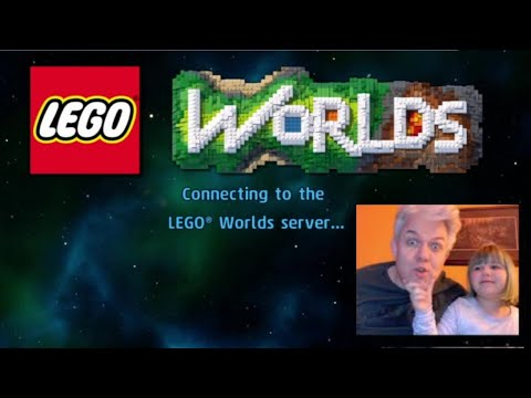 Daddy and Cupcake - Lego Worlds PIRATE ISLAND |