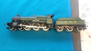 "OO Model Railway Mainline 4-6-0 GWR Steam Locomotive ""Hinton Manor"" Being test run"