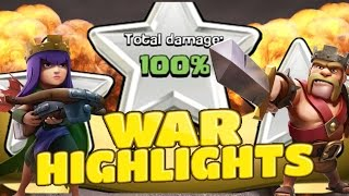 LOGOWIPE 3 STARS! GOWIWI 2.0! - Win # 96 CLANIMALS WAR HIGHLIGHTS CLASH OF CLANS
