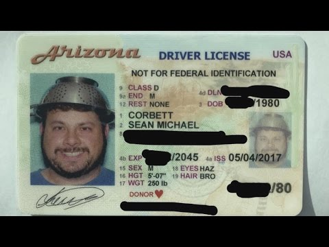 License Hat Photo Colander Due To Youtube Driver's Void - State Wants Pastafarian's