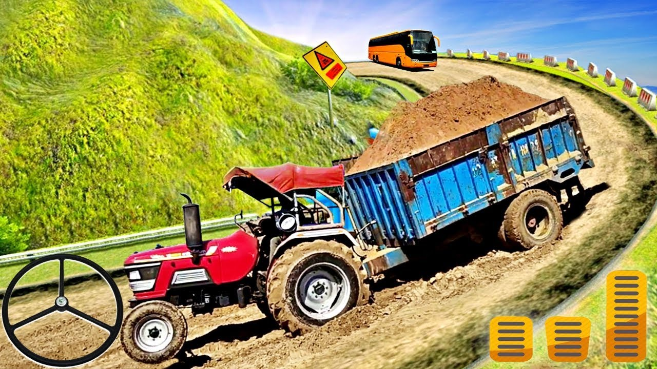 Heavy Tractor Trolley Cargo Simulator 3D – Farming Cargo Driver – Android Gameplay FHD