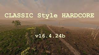 134. 7 Days to Die. Classic Style Hardcore. Исследуем расщелину и находим торгаша [20181101]