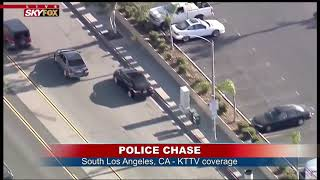 FULL CHASE COVERAGE: 3-hour police chase through LA and Orange counties