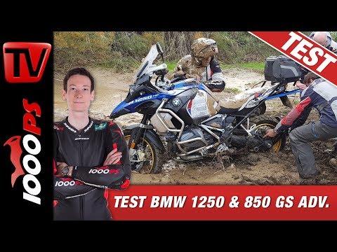 BMW R 1250 GS Adventure Test und F 850 GS Test - Harter Test erfordert Opfer - Reiseenduro Offroad