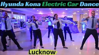 Hyundai Kona Dealers Dancing in India | Electric Car Launch Lucknow