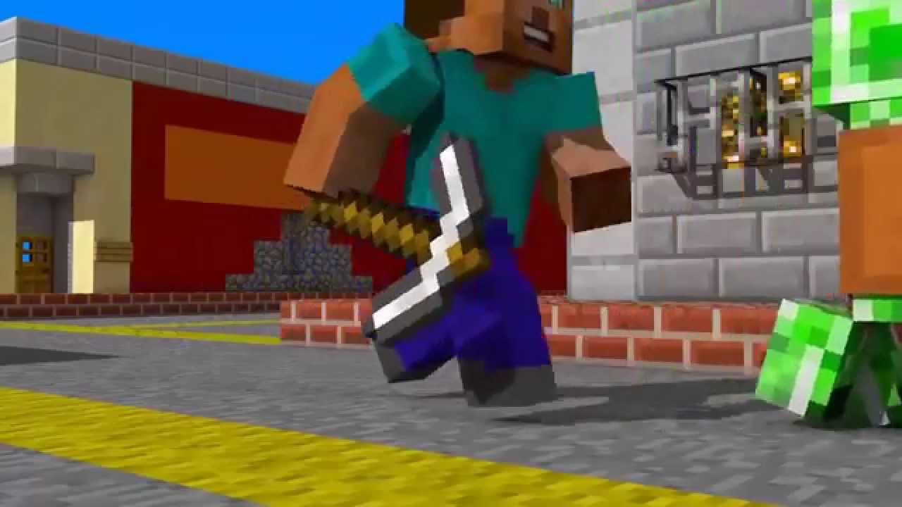 Майнкрафт картинки из игры - YouTube
