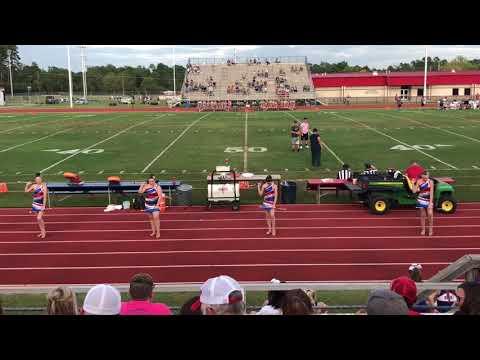 Sabine Middle School Majorettes 1st Football Game