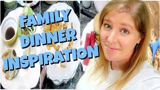 WHAT'S FOR DINNER   EASY FAMILY DINNER IDEAS