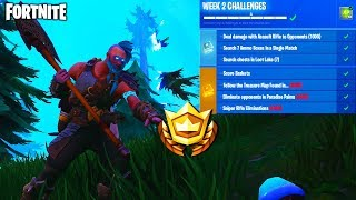 *ALL* WEEK 2 CHALLENGES LEAKED - QUICK & EASY! (Fortnite Battle Royale Weekly Challenges)
