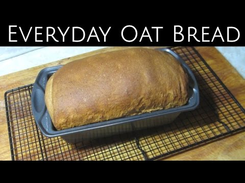 Everyday Oat Bread