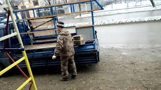 Монтаж алюминиевого витража.(, 2016-12-02T11:08:15.000Z)