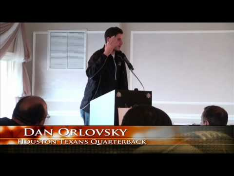 Dan Orlovsky Speaking at WCFF Breakfast of Champions