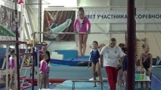 Аня Крайнова брусья 15 октября 2016