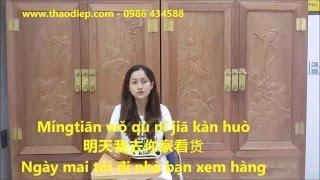Cách nói ngày giờ bằng tiếng Trung - Tiếng Trung Thảo Điệp - Trung Tâm Thảo Điệp