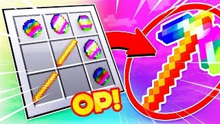 DIE 1.000.000€ TEURE SPITZHACKE! **OVERPOWERED** (Minecraft 1.13 Crafting Rezept)