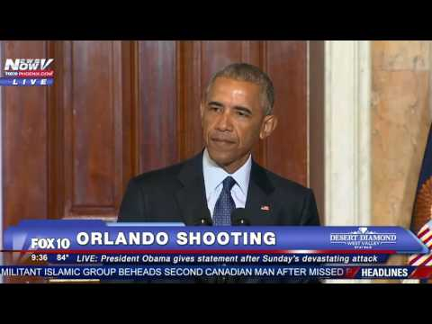 """MUST WATCH: President Obama Talks About Why He Avoids Use of Phrase """"Radical Islam"""" - FNN"""
