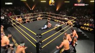 NXT Seth Rollins vs Correy graves lumber jack match