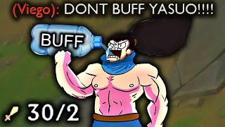 DON'T BUFF YASUO