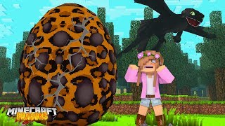 THE DRAGON EGG IS HATCHING! | Minecraft DRAGONS | Little Kelly