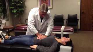 Your Houston Chiropractor Dr. Gregory Johnson Treats Hiatal Hernia on Brooke Adams Miss Tessmacher