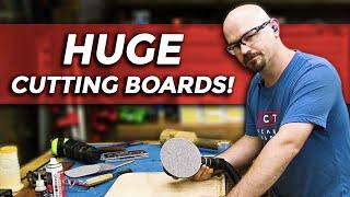 2 Ways to Make a Cutting Board | Brisket Board