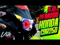 Ojo de demonio en CBR 250R modificada y versión original Review / Motovlog