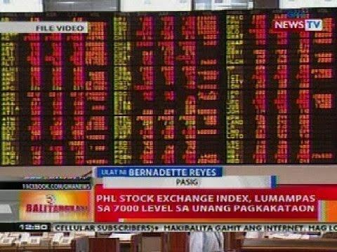BT: PHL Stock Exchange Index, lumampas sa 7000 level sa unang pagkakataon