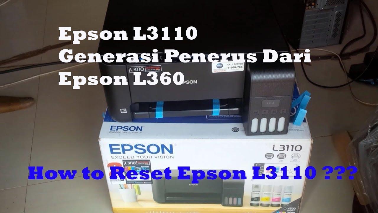 Unboxing & Review Printer Epson L3110