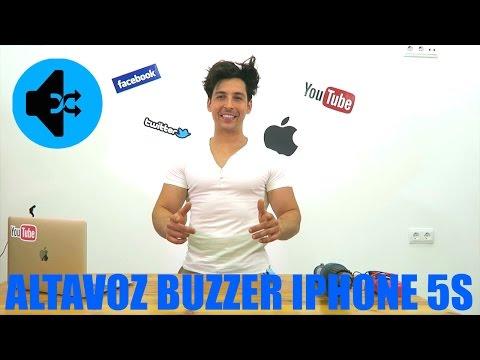 COMO CAMBIAR ALTAVOZ BUZZER IPHONE 5S
