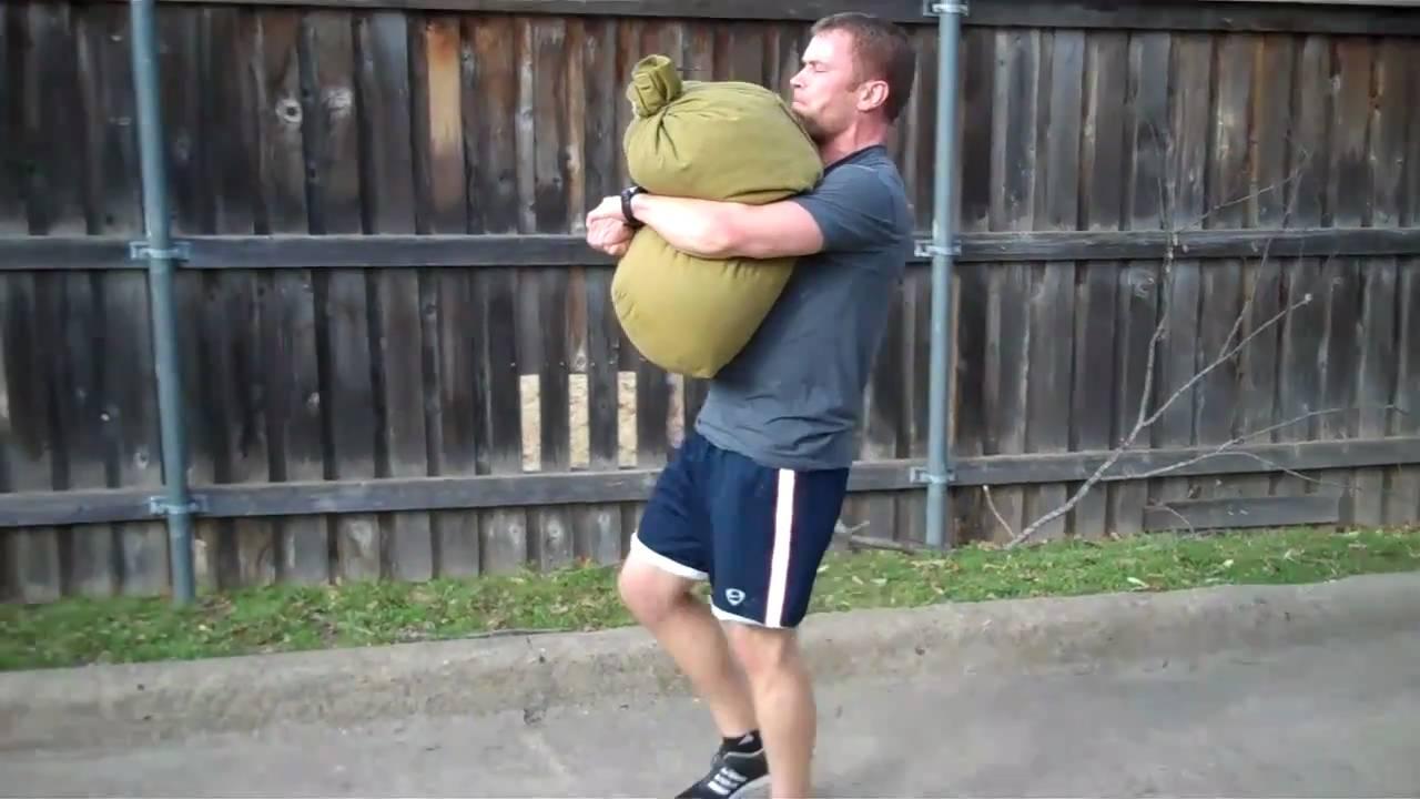 Image result for sandbag carry