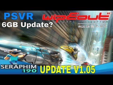 WiPE OUT :  PSVR - Update V1.05 - 6GB Download!!!! wtf?