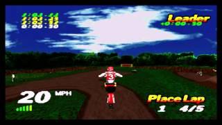 VMX Racing PSX (Playstation) Championship - 06 - San Jose National
