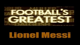 Lionel Messi - Footballs Greatest - Best Players in the World ✔