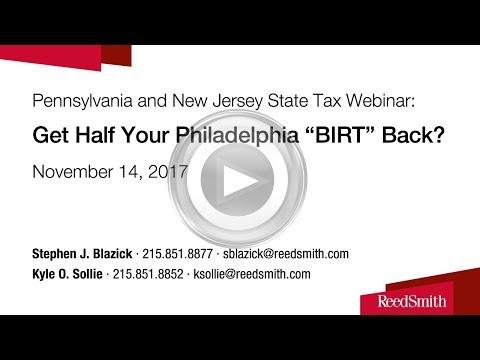"Get Half Your Philadelphia ""BIRT"" Back?"
