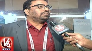 Special Report On T-Fiber Stall At World IT Congress, Hyderabad. V6...