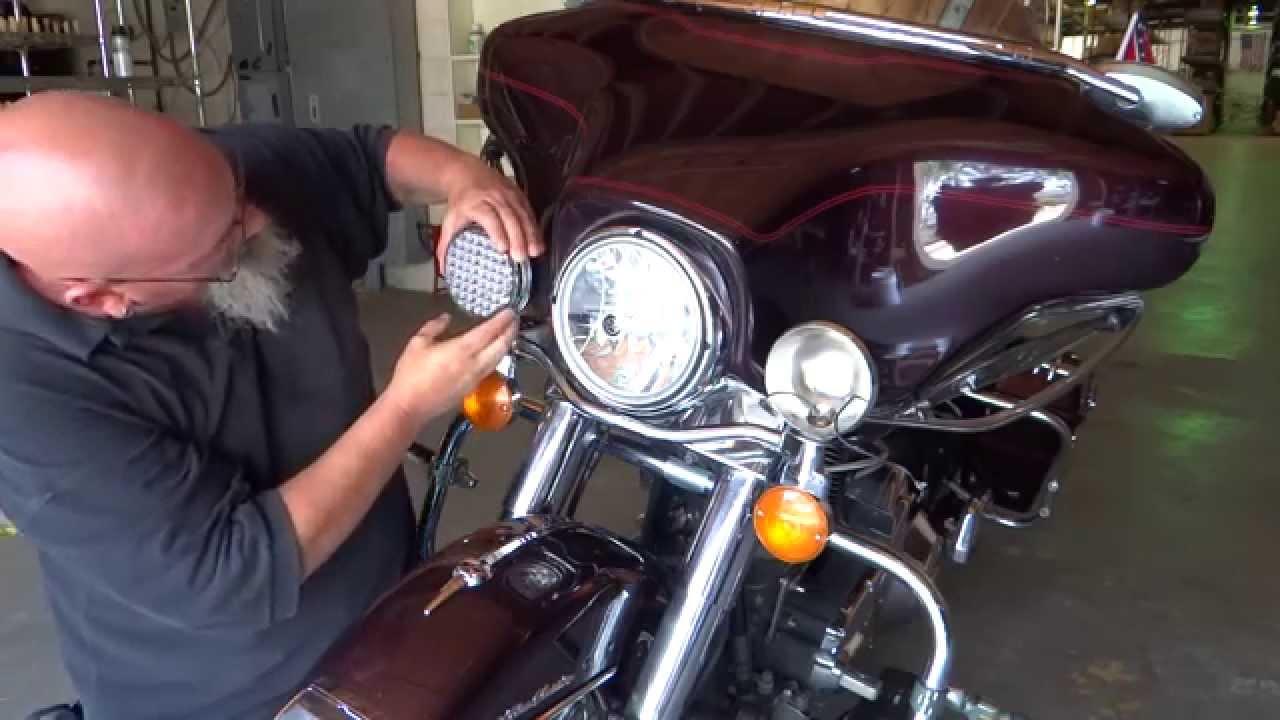 hight resolution of ledlights 2850 motorcyle driving passing light install