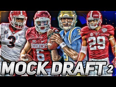 Baker Mayfield Jumps BIG + Eagles Taking WHO? | 2018 NFL Mock Draft 2.0