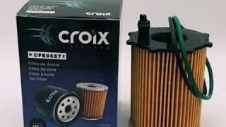 Filtro de aceite Croix CFE-96571 Automóviles y Vehículos