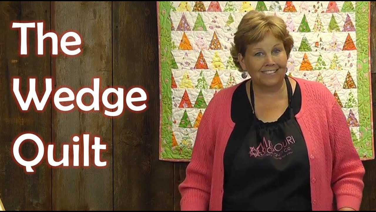 The Wedge Quilt Using Charm Packs Youtube