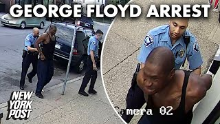 Video doesn't appear to show George Floyd resisting arrest as cops claimed | New York Post